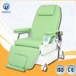 Blood Donation Chair with Digital Weigh System and CPR Covering ABS