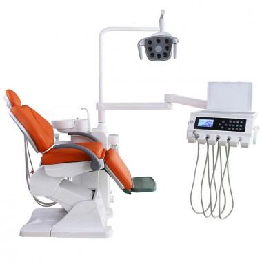 Safe design ergonomic folding dental chair unit U-110