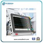 (UN8000L) Hot Sale Medical/Hospital/Cardiac/Bedside/ECG/Fetal Patient Monitor