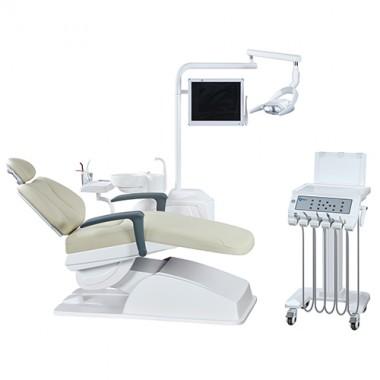 New Style Popular  Mikata left handed dental chair unit with movable cart