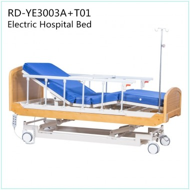 2018 new style electric adjustable bed home care bed nursing bed for old people