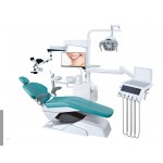 High quality fashionable complete dental chair unit U-111 Floor Stand type for  dental surgery