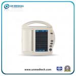 (UN8003) Medical/Hospital/Cardiac/Clinic Use Three Channel Touchscreen ECG/EKG Machine with Touchscreen
