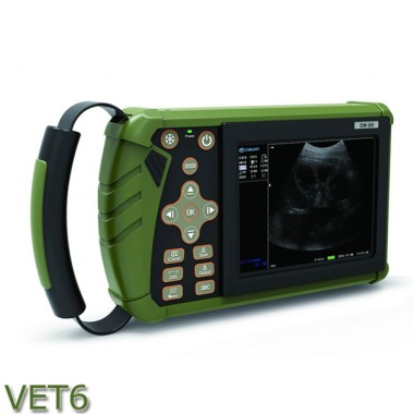 Palm  Veterinary Ultrasound machine color doppler System VET 6 for animal pregnancy/disease diagnostic