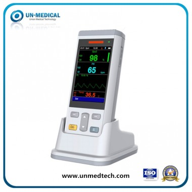 Adult/Pediatric/Neonate/Hospital/Medical/Patient/Etco2 Monitor/Handheld Vital Sign Monitor with PC Software