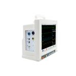 CE certification multi parameter patient monitor SPO2 ECG RESP NIBP TEMP PR