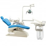 Factory Price OEM approved electric dental chair unit MKT-180 with dental chair equipment