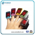 Un230 Cheap LED Display Fingertip Pulse Oximeter with Bar-Graph