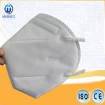 Chinese Standard Kn95 Mask Medical Disposable Protection Mask on white List