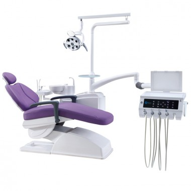 Top grade humanized design complete dental chair unit New MKT-480 with tissue box for dentist use