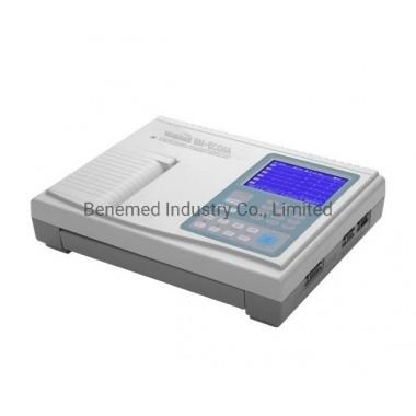 Hospital Equipment Digital 6 (Six) Channel Portable ECG Machine Electrocardiograph