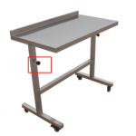 Mez09 Veterinary Medical Clinic Animal Caring Table with Drawer
