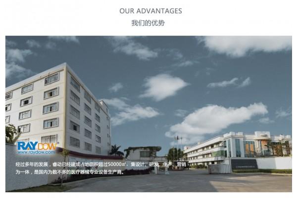 Jiangmen Raydow Healthcare&Fitness Medical Technology Co.,Ltd.