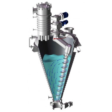 High efficiency LPG model spray drying equipment