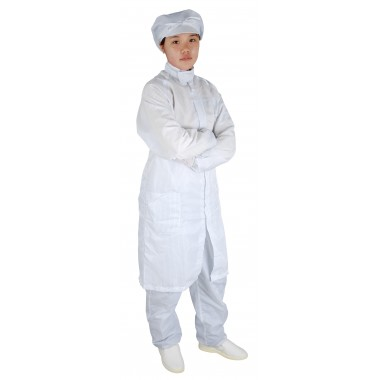 J1 Antistatic Smock (with round collar and zipper)