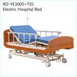 Wooden Homecare Bed Electric Hospital Nursing Home Bed