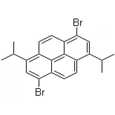 1,6-diisopropyl-3,8-dibromopyrene