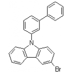 9-([1,1'-biphenyl]-3-yl)-3-broMo-9H-carbazole